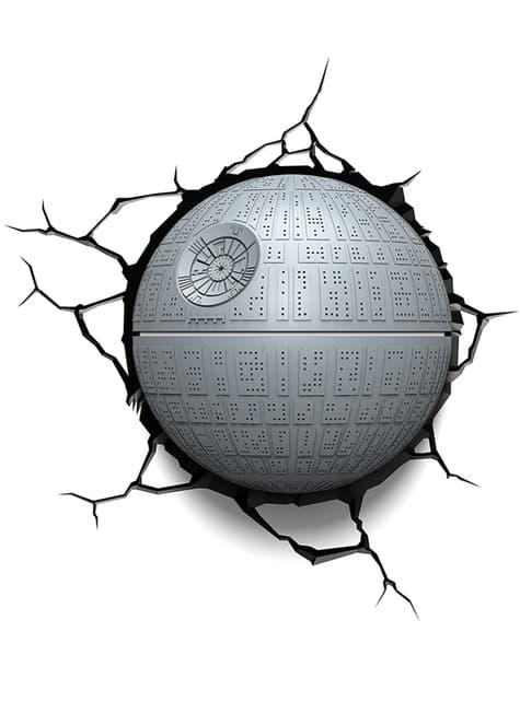 Candeeiro decorativa 3D Estrela da Morte