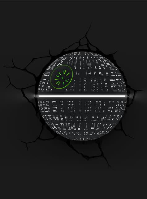 Lámpara decorativa 3D Estrella de la Muerte - oficial