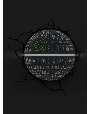 3D Deco Light Death Star
