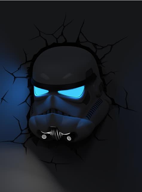 Lámpara decorativa 3D Stormtrooper - oficial