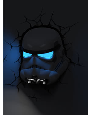 Dekorativní 3D lampička stormtrooper