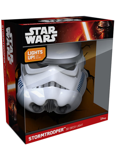 Lámpara decorativa 3D Stormtrooper