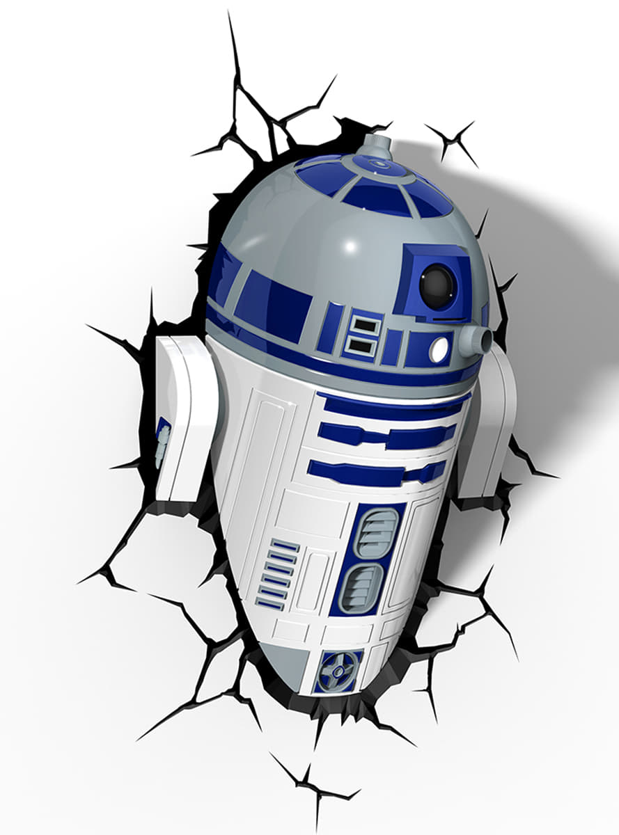 star wars r2d2 3d lampe til gte fans funidelia. Black Bedroom Furniture Sets. Home Design Ideas