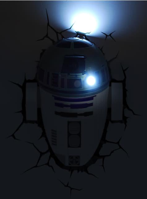 Lámpara decorativa 3D R2D2 - oficial