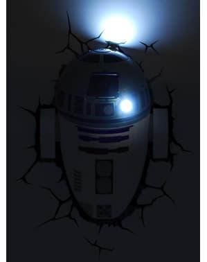 Lámpara decorativa 3D R2D2