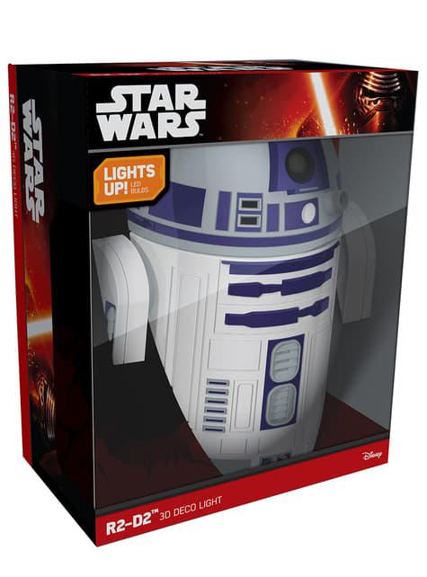 Lámpara decorativa 3D R2D2 - barato