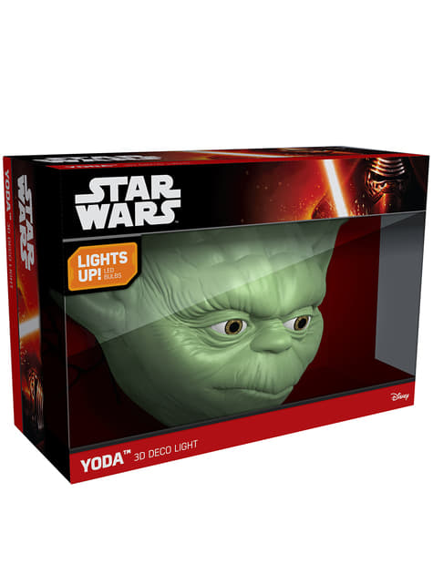 Lámpara decorativa 3D Yoda - barato