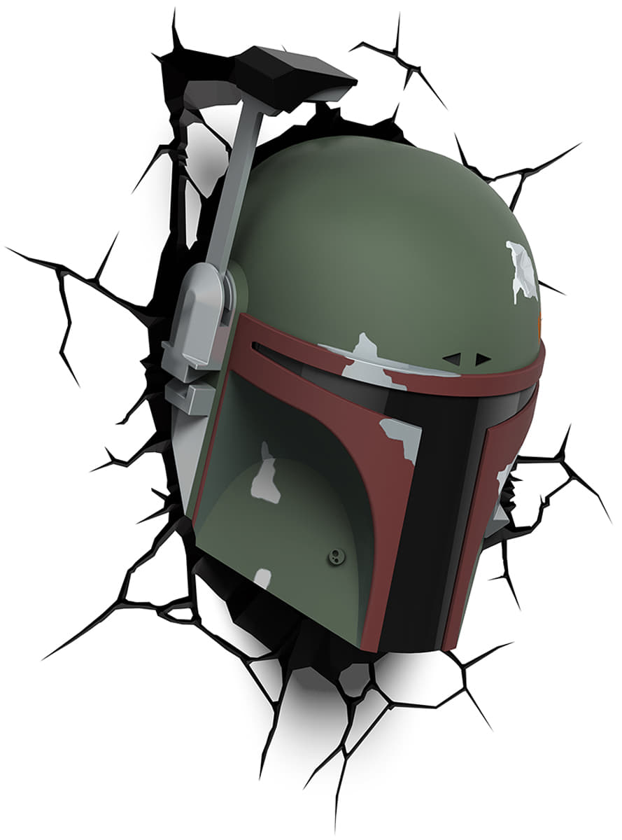 3D Deco Light Boba Fett