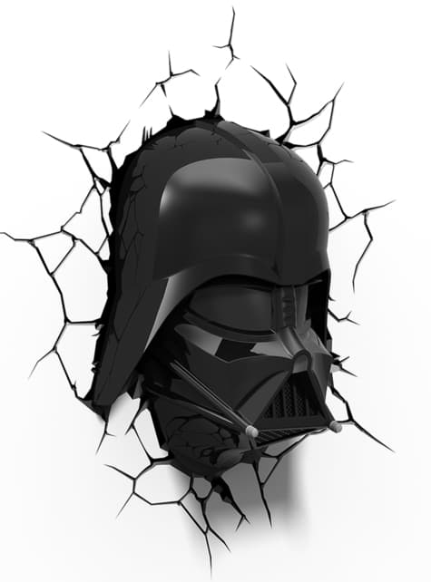 Lámpara decorativa 3D Darth Vader