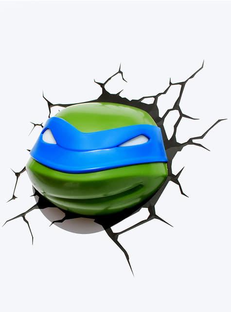 Decoratieve lamp 3D Leonardo The Ninja Turtles