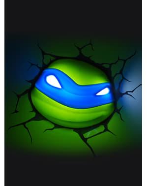 Veioză decorativă 3D Leonardo Țestoasele Ninja