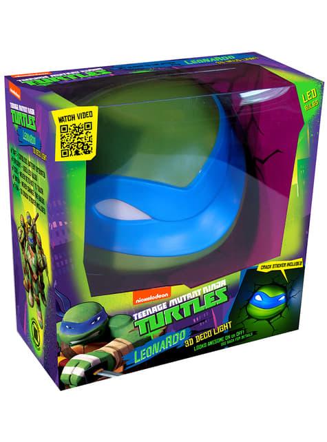 Lámpara decorativa 3D Leonardo Las Tortugas Ninja
