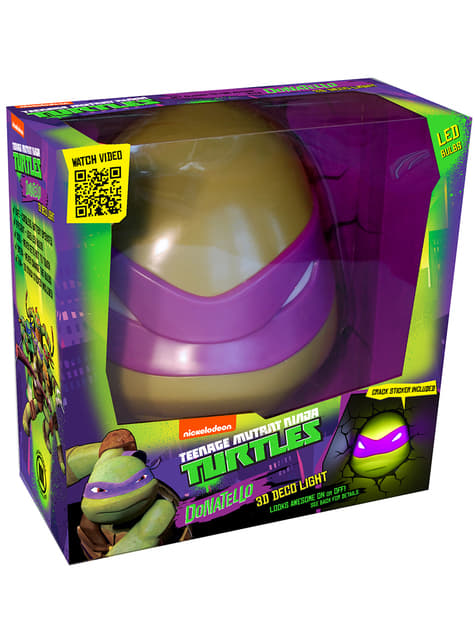 Lámpara decorativa 3D Donatello Las Tortugas Ninja