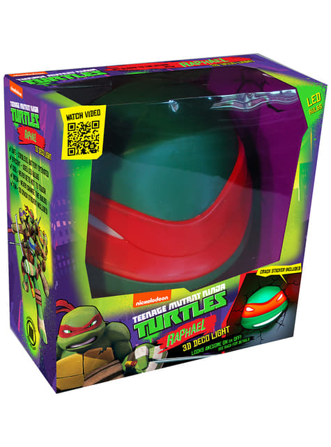 3D Deco Light Raphael Ninja Turtles