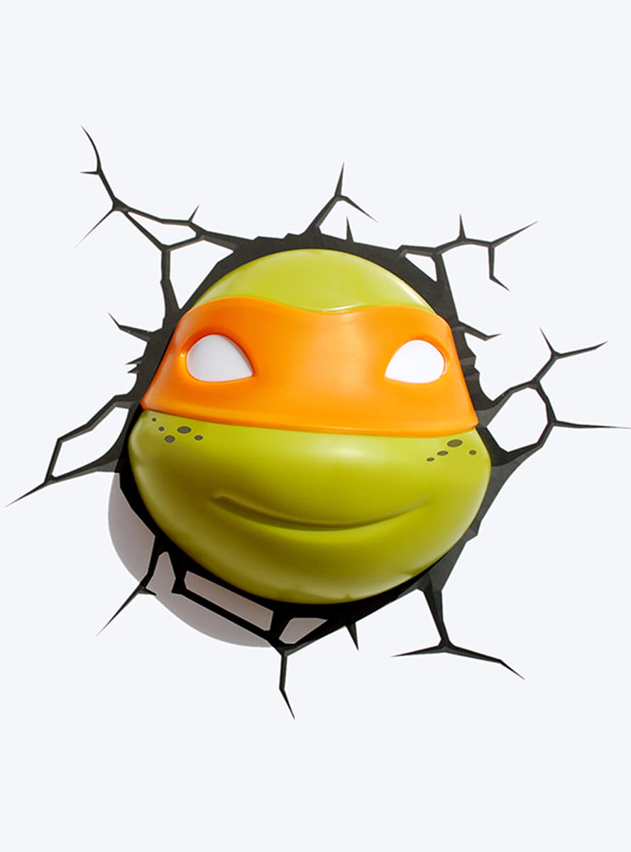 3D Deco Light Michelangelo Ninja Turtles for true fans | Funidelia