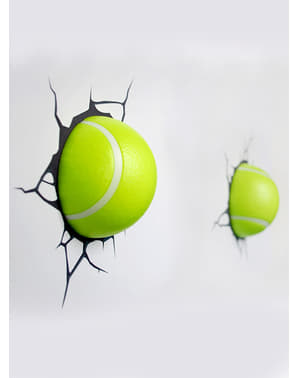 Lampada da muro 3D palle da tennis