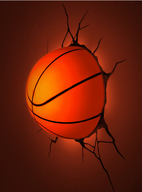 3D Deco Light Basketball Ball