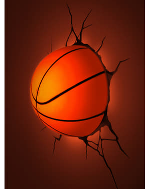 Basketboll Lampa 3D