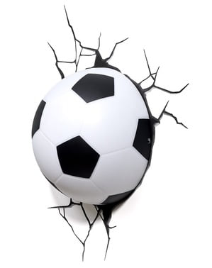 3Dサッカーランプ