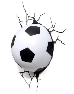 Lámpara 3D de balón de fútbol