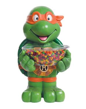 Pot à bonbons Michelangelo Les Tortues Ninja