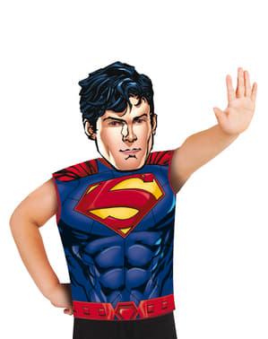 Kit fato de Superman económico para menino