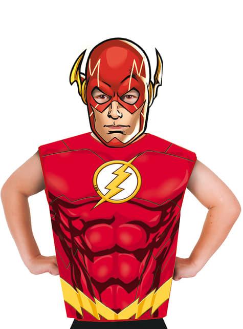 Kit fato de Flash económico para menino
