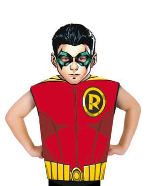 Kit disfraz de Robin económico para niño