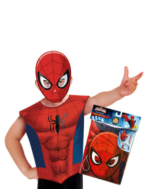 Kit Déguisement Spiderman économique enfant