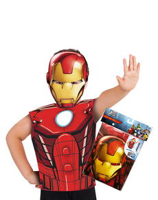 Kit disfraz de Iron Man económico para niño