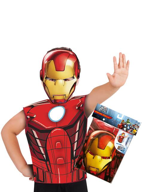 Kit disfraz de Iron Man para niño