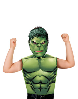 Kit costum Hulk economic pentru băiat