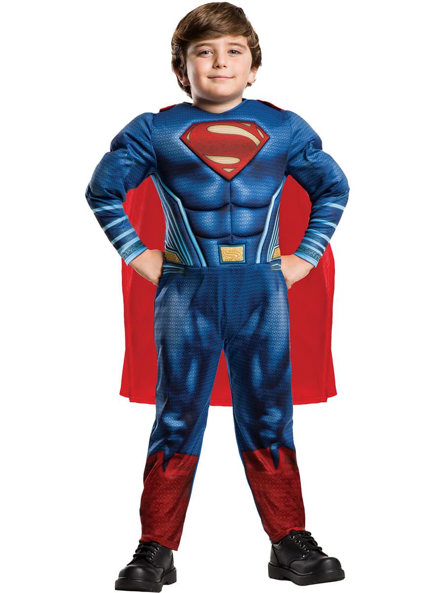 superman batman vs superman kost m f r jungen funidelia. Black Bedroom Furniture Sets. Home Design Ideas