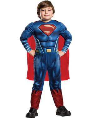 Costum Superman Batman vs Superman pentru băiat în cutie