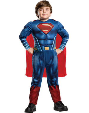 男の子のためのバットマンVSスーパーマンからのスーパーマンコスチューム