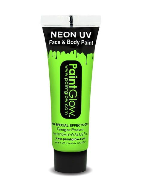 Tube maquillage phosphorescent néon UV
