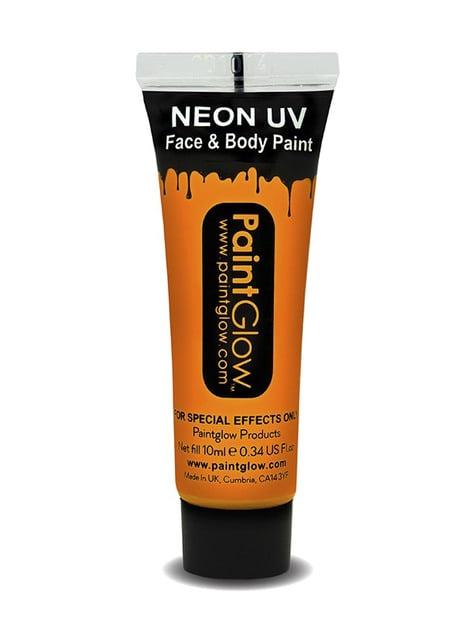 Bote de maquillaje fosforescente neón UV - Carnaval
