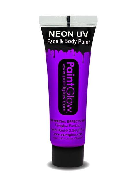Bote de maquillaje fosforescente neón UV - para niños y adultos