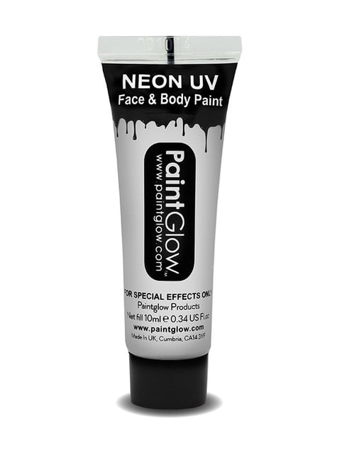 Bote de maquillaje fosforescente neón UV - el más divertido
