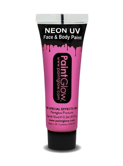 Bote de maquillaje fosforescente neón UV - para completar tu disfraz