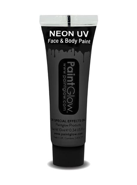 Bote de maquillaje fosforescente neón UV - ideas para disfrazarte