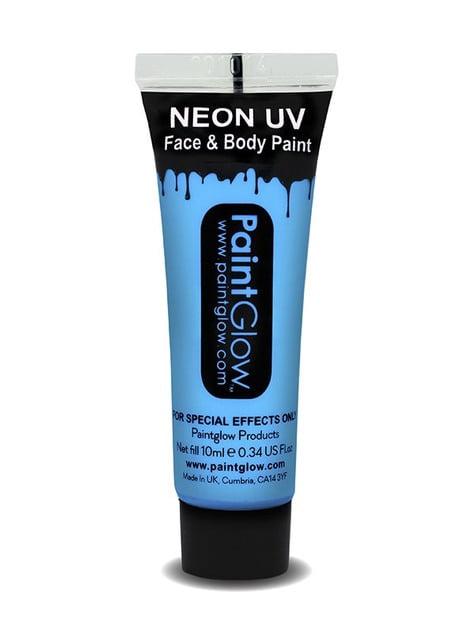 Bote de maquillaje fosforescente neón UV - el complemento perfecto para tu disfraz