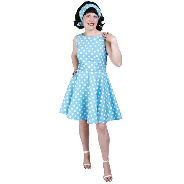 Disfraz de chica de los aos 60 rosa para mujer talla 2 for Disfraces de los anos 60