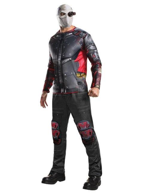 Fato de Deadshot Esquadrão Suicida deluxe para homem