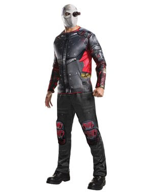 Deluxe Deadshot Suicide Squad Kostyme Mann