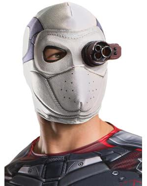 Máscara de Deadshot Esquadrão Suicida para adulto