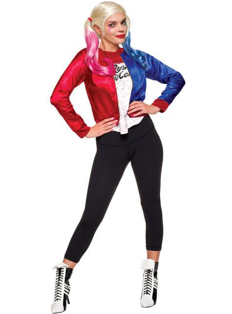 Kit disfraz de Harley Quinn Escuadrón Suicida para mujer