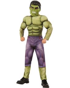 Disfraz de Hulk Los Vengadores 2 La Era de Ultrón musculoso para niño