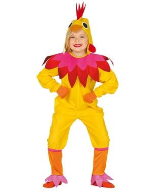 Grappig kip kostuum voor kinderen