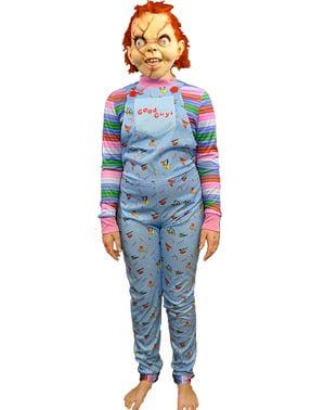 Fato de Chucky boneco bom para menino